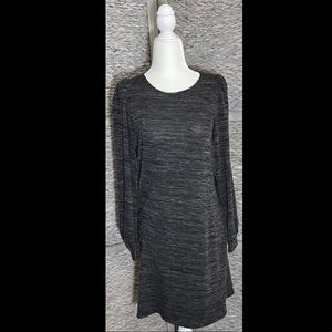 NWOT Max Studio Puff Sleeve Sweater Dress